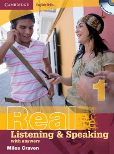 Cambridge English Skills Real 1 Listening and Speaking with answers + 2CD - Miles Craven