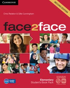 face2face Elementary Student's Book + Online workbook + DVD - Gillie Cunningham, Chris Redston