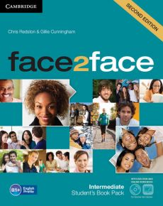 face2face Intermediate Student's Book with DVD - Gillie Cunningham, Chris Redston