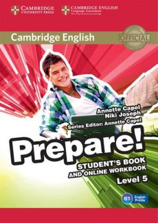 Cambridge English Prepare! 5 Student's Book - Annette Capel, Niki Joseph