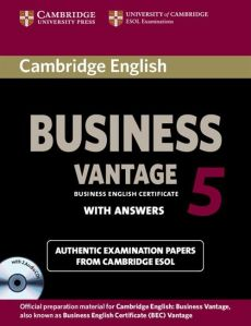 Cambridge English Business 5 Vantage with answers + 2CD
