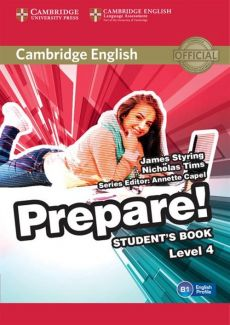 Cambridge English Prepare! 4 Student's Book - James Styring, Nicholas Tims