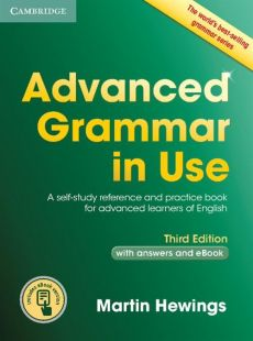 Advanced Grammar in Use Book with Answers and eBook - Martin Hewings