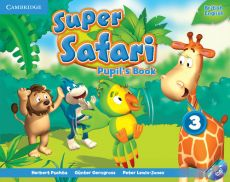 Super Safari 3 Pupil's Book + DVD - Günter Gerngross, Peter Lewis-Jones, Herbert Puchta