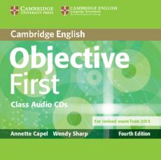 Objective First Class Audio 2CD - Annette Capel, Wendy Sharp