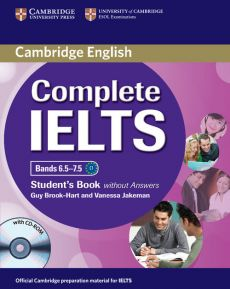 Complete IELTS Bands 6.5-7.5 Student's Book without answers + CD - Guy Brook-Hart, Vanessa Jakeman