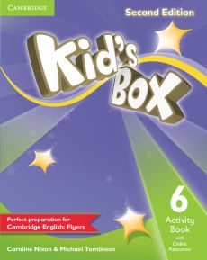 Kid's Box Second Edition 6 Activity Book with Online Resources - Outlet - Caroline Nixon, Michael Tomlinson