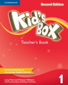 Kid's Box Second Edition 1 Teacher's Book - Outlet - Lucy Frino, Melanie Williams
