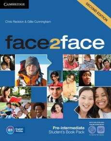 face2face Pre-intermediate Student's Book with DVD-ROM - Gillie Cunningham, Chris Redston