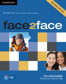 face2face Pre-intermediate Workbook without Key - Chris Redston, Nicholas Tims
