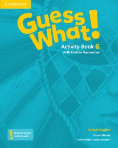 Guess What! 6 Activity Book with Online Resources - Susan Rivers