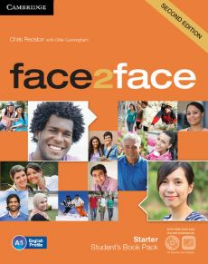 face2face Starter Student's Book with DVD-ROM - Gillie Cunningham, Chris Redston