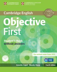 Objective First Student's Book without Answers - Capel Annette, Sharp Wendy