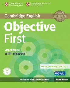 Objective First Workbook with Answers + CD - Annette Capel, Wendy Sharp