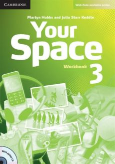Your Space 3 Workbook with Audio CD - Martyn Hobbs, Keddle Julia Starr