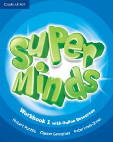 Super Minds 1 Workbook with Online Resources - Gunter Gerngross, Peter Lewis-Jones, Herbert Puchta
