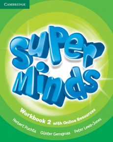Super Minds 2 Workbook with Online Resources - Gunter Gerngross, Peter Lewis-Jones, Herbert Puchta