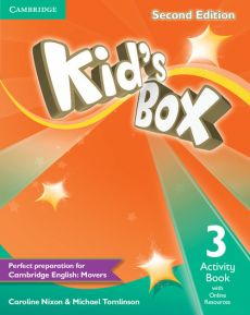 Kid's Box Second Edition 3 Activity Book with Online Resources - Caroline Nixon, Michael Tomlinson