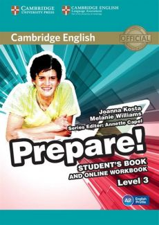 Cambridge English Prepare! 3 Student's Book + online workbook - Joanna Kosta, Melanie Williams
