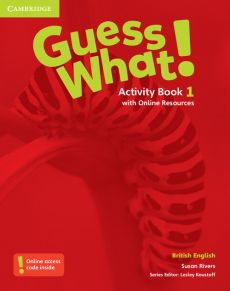 Guess What! 1 Activity Book with Online Resources - Susan Rivers