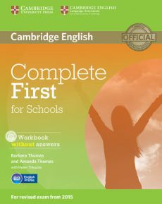 Complete First for Schools Workbook without Answers + CD - Amanda Thomas, Barbara Thomas