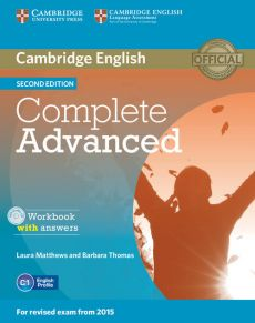 Complete Advanced Workbook with answers + CD - Laura Matthews, Barbara Thomas