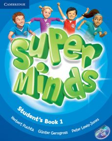 Super Minds 1 Student's Book with DVD-ROM - Gunter Gerngross, Peter Lewis-Jones, Herbert Puchta