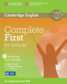 Complete First for Schools Workbook with answers + CD - Amanda Thomas, Barbara Thomas