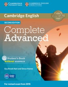 Complete Advanced Student's Book without answers z płytą CD - Guy Brook-Hart, Simon Haines