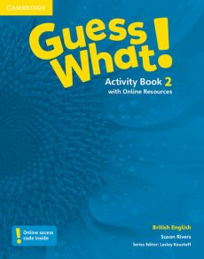 Guess What! 2 Activity Book with Online Resources - Susan Rivers