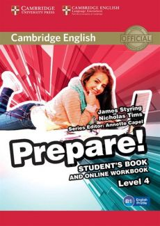 Cambridge English Prepare! 4 Student's Book - Outlet - James Styring, Nicholas Tims