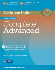 Complete Advanced Teacher's Book + CD - Guy Brook-Hart, Simon Haines