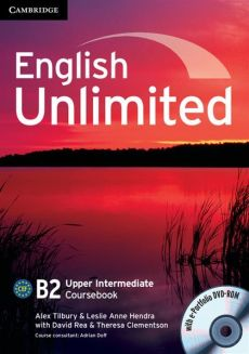English Unlimited Upper Intermediate Coursebook + DVD - Hendra Leslie Anne, Alex Tilbury