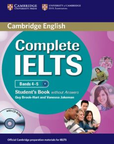 Complete IELTS Bands 4-5 Student's Book without answers + CD - Guy Brook-Hart, Vanessa Jakeman
