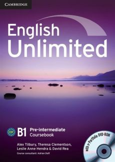 English Unlimited Pre-intermediate Coursebook + DVD - Outlet - Theresa Clementson, Alex Tilbury