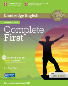Complete First Student's Book with Answers with Testbank + CD - Guy Brook-Hart