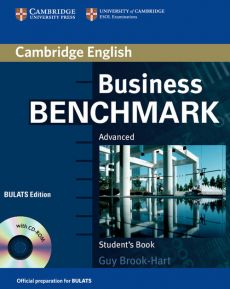 Business Benchmark Advanced Student's Book + CD - Guy Brook-Hart