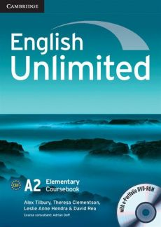 English Unlimited Elementary Coursebook with e-Portfolio DVD-ROM - Alex Tilbury, Theresa Clement