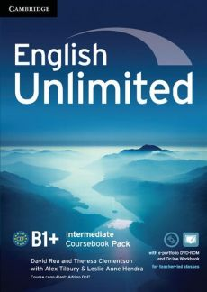 English Unlimited Intermediate Coursebook with e-Portfolio DVD-ROM - Alex Tilbury, Theresa Clement