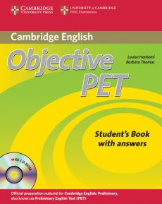 Objective PET Self-study Pack Student's Book with answers + 4CD - Barbara Thomas, Louise Hashemi