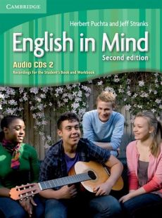 English in Mind 2 Audio 3CD - Herbert Puchta, Jeff Stranks