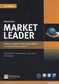 Market Leader Elementary Flexi Course Book 2 +CD +DVD - David Cotton, David Falvey, John Rogers, Simon Kent