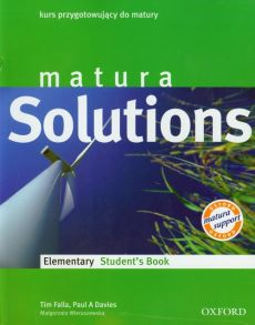 Matura Solutions Elementary Student's Book - Outlet - Paul Davies, Tim Falla