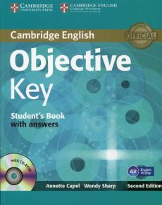 Objective Key A2 Student's Book with answers + CD - Annette Capel, Wendy Sharp