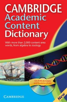 Cambridge Academic Content Dictionary Reference Book + CD - Outlet