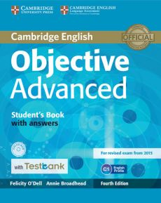 Objective Advanced Student's Book with Answers with CD-ROM with Testbank - Annie Broadhead, Felicity O'Dell