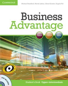 Business Advantage Upper-intermediate Student's Book + DVD - Michael Handford, Almut Koester, Martin Lisboa, Angela Pitt