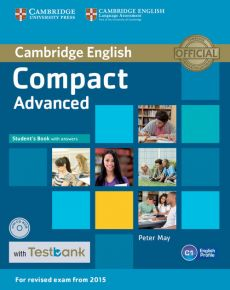 Compact Advanced Student's Book with Answers + Testbank CD - Peter May