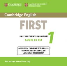 Cambridge English First 1 for Revised Exam from 2015 Audio CDs (2)