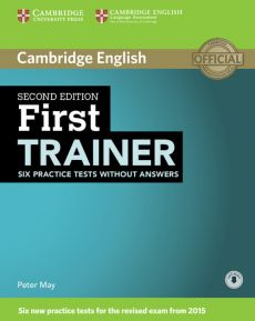 First Trainer Six Practice Tests without Answers + Audio - Outlet - Peter May